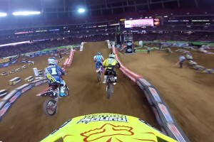 On Board: 2015 AMA Supercross Rd9 Atlanta
