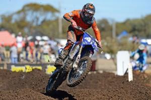 GYTR Yamaha battle injury at MX Nationals opener