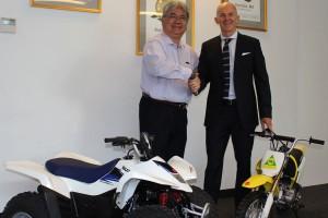 Suzuki Australia supports MA's Junior Come and Try program