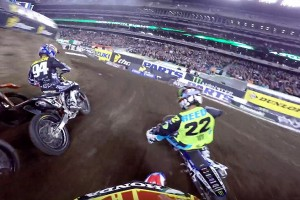 On Board: Seely's East Rutherford podium