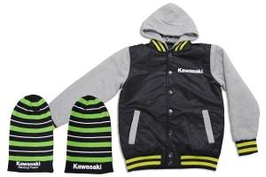 Product: Kawasaki winter clothing range