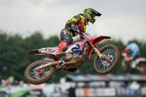 Rookie MXGP points leader Gajser coy on 2017 plans
