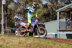 Breakout performance for Serco Yamaha's Mitch Evans
