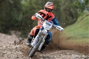 Double wins for Husqvarna man Stanford