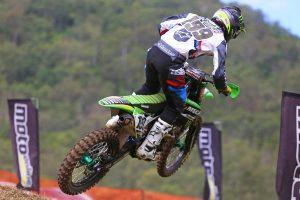 Race podium showcases MX1 potential of Crawford