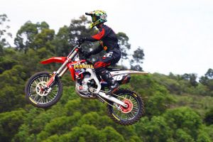 Webster climbs up a spot in MX2 at Conondale MX Nationals