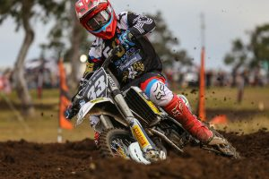 Mackie and Husqvarna are inaugural 125cc Gold Cup champions