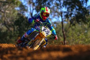 Peters set to fly the Wilson Coolair Motul Factory Suzuki flag at Shepparton
