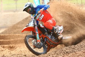 A setback for KTM's Mastin in first supercross season