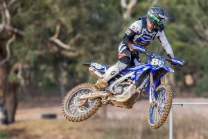 Evans meets target in maiden Yamalube Yamaha showing