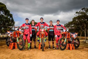 KTM Motocross Racing Team 'Ready to Race' at MX Nationals opener