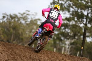 Ride Red riders make progress in Appin