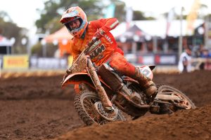 Roll-off malfunction hinders Gibbs in home MX Nationals affair