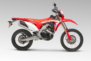 Bike: 2019 Honda CRF450L