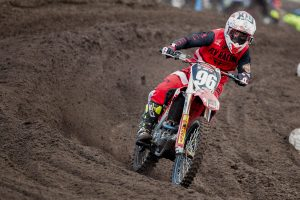 Maiden MX2 triumph a satisfying result for Webster