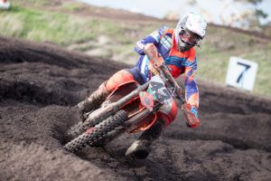 Double podium at MX Nationals double-header for Raceline's Evans