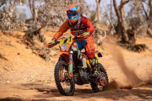 KTM's Milner dominates Broken Hill AORC Cross Country