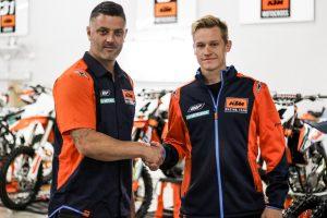 KTM Motocross Racing Team makes Alix signing official