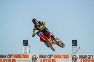Osby grabs SX2 podium for Raceline Pirelli KTM at Jimboomba