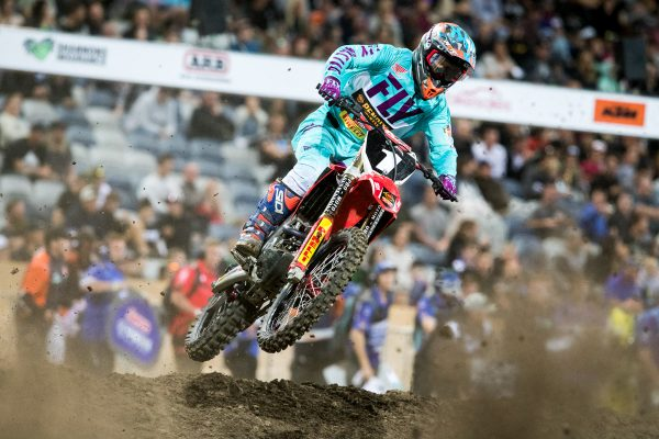 Richardson concedes AUS Supercross SX2 title unlikely