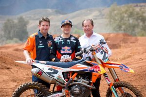 Red Bull KTM Factory Racing signs Webb for 2019 season
