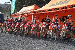 KTM Juniors capture 10 titles in Australian Championship