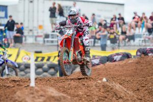 Raceline Pirelli KTM's Osby optimistic despite Coolum difficulties