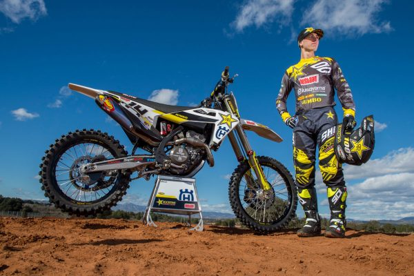 Beaton's 2019 look uncovered in factory Husqvarna MX2 launch