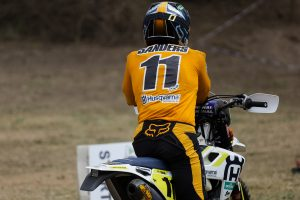 Broadford MX Nationals entry for AORC champion Sanders