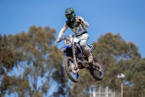 Gibbs leads CDR Yamaha 1-3 at Broadford MX Nats