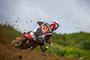 Lawrence makes strong impression in Unadilla Pro Motocross debut