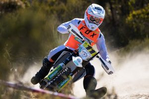 Sanders clinches AORC E3 crown with Husqvarna Enduro Racing Team