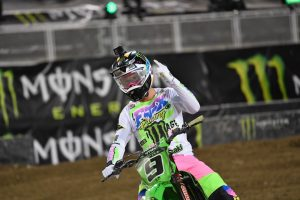 Cianciarulo wins Monster Energy Cup on debut