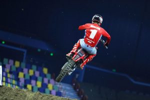 Honda's Brayton and Blose quickest in Brisbane supercross qualifying