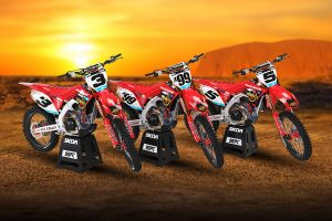 Penrite Honda Racing Desert Team are ready to tackle Finke
