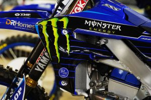 Increased Monster Energy branding for CDR at AUS-X Open