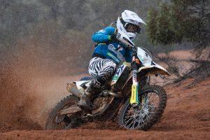 Misfortune for Husqvarna Enduro Racing Team at Hattah