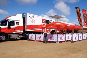 Toured: Penrite Honda Racing transporter