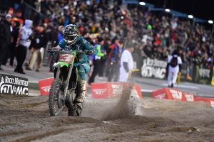 Late charge seals Tomac win in 50th Daytona Supercross