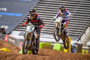 Podium injects belief for Wilson in 450SX finals