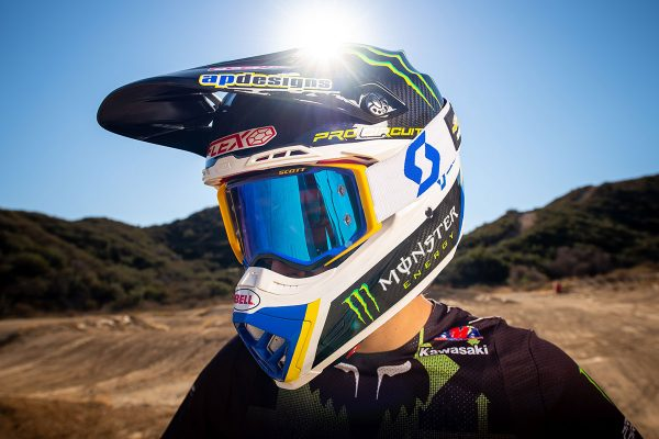 Detailed: 2021 Scott Prospect Pro Circuit 30 Years goggle
