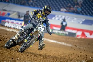Hampshire out for remainder of 2021 SX series