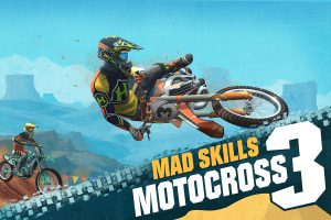 Mad Skills Motocross 3 launches with classic animated trailer