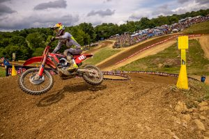 Lawrence likens High Point to a 'Euro track' following podium