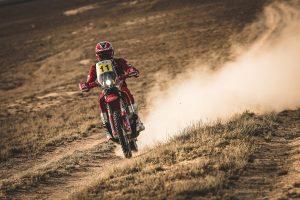 Sanders shy of Rally Kazakhstan podium on GasGas debut